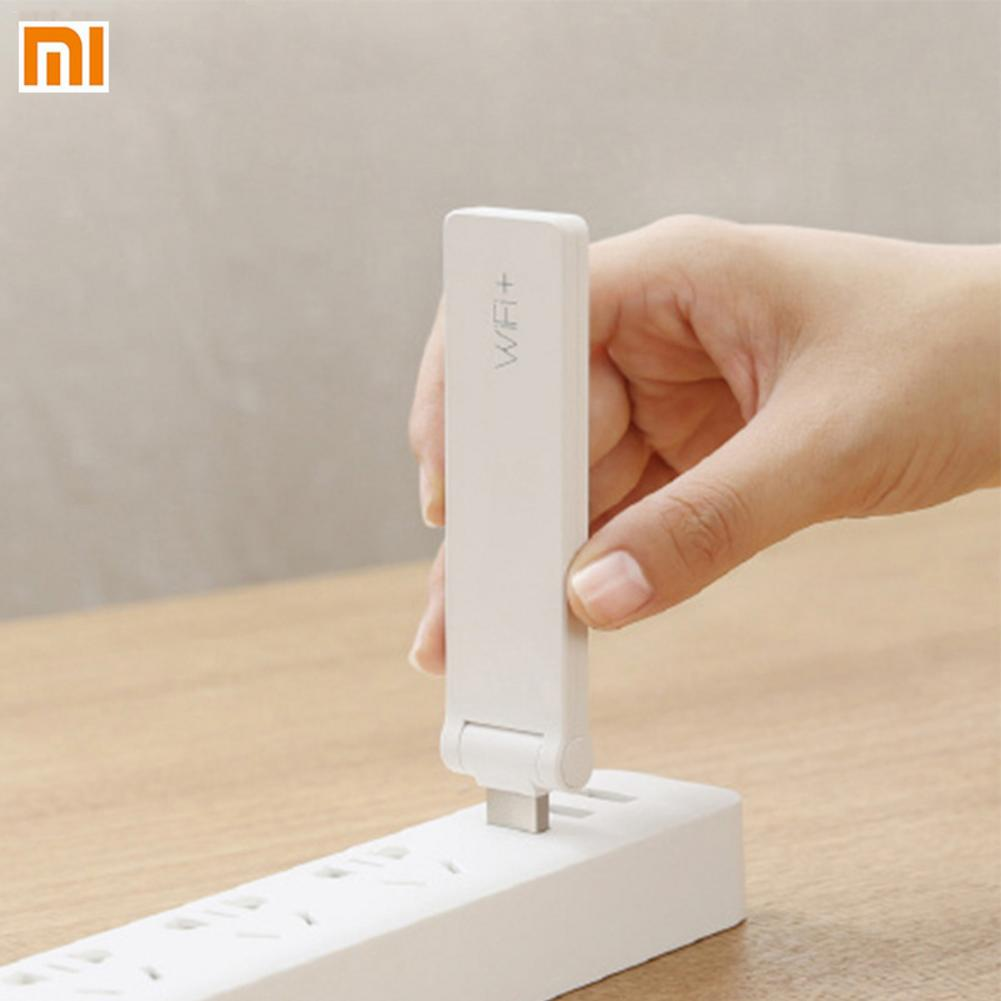 Xiaomi WiFi Amplifier 2 Ver Signal Repeater Wireless Routing Extender Receives Enhanced Signal Repitidor WiFi Extender 300Mbps