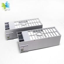 WINNERJET C12C890191 Maintenance Tank with Reset Chip For Epson 7800 7880 9800 9880 Printer free shipping reset mc 16 maintenance tank chip for ipf 600 605 610 6000s 6100 6300s 6300 printer chip resertter