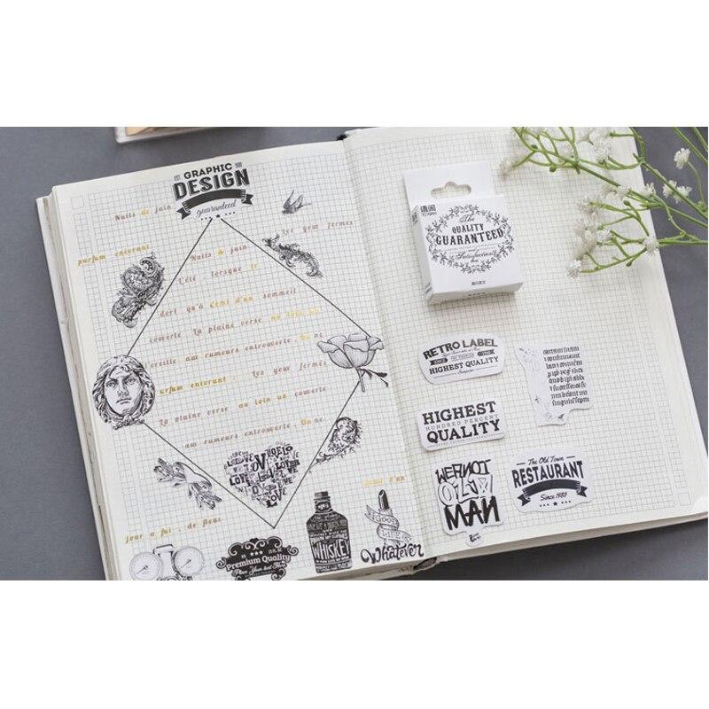 Купить с кэшбэком 50pcs/pack DIY Diary Notebook Decoration Scrapbooking Stickers Label Greeting Card Making Album Cute Sticker 5 Styles Can Choose