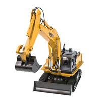 1:16 RC Truck 11CH Remote Control Excavator Tractor Simulation Construction Toys Gift For Kids