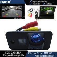 Fuwayda Цвет CCD вид сзади автомобиля Камера для Audi A3 S3 A4 S4 A6 A6L S6 A8 S8 RS4 RS6 q7 + 4.3 дюймов складной ЖК-дисплей Мониторы водонепроницаемый