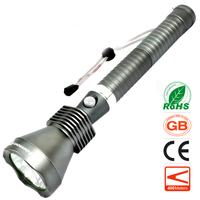 Zoom LED Flashlight 1000 Lumens 10W CREE T6 Zoomable Torchlight Car Charger Rechargeable Long Range Olight Waterproof Torch Hot
