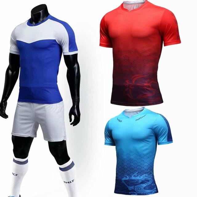 2018 nuevo fútbol dragón jerseys adultos manga corta Jerseys y pantalones  cortos de fútbol chándal de. Sitúa el cursor encima para ... fa1142a692abb