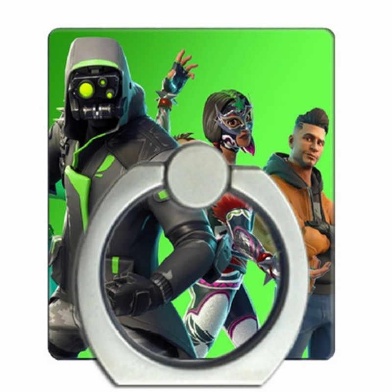 حامل الهاتف الذكي بحلقة إصبع بتصميم أصلي على شكل معركة رويال للهواتف الذكية آيباد كوسبلاي سلسلة مفاتيح للأطفال والأولاد