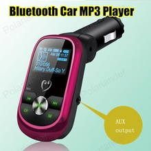 Новый Смартфон BluetoothMP3 Player Handsfree Car Kit Dual USB Зарядное Устройство Fm-передатчик Громкой Связи с Micro SD/TF Card Reader