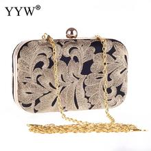Ethnic Embroidered Clutch Bag Metal Edge Wallet Embroidered Day Clutches Wallet Storage Vintage Handbag For Women Top-Handle Bag fggs hot cool retro skull wallet for women vintage clutch bag black
