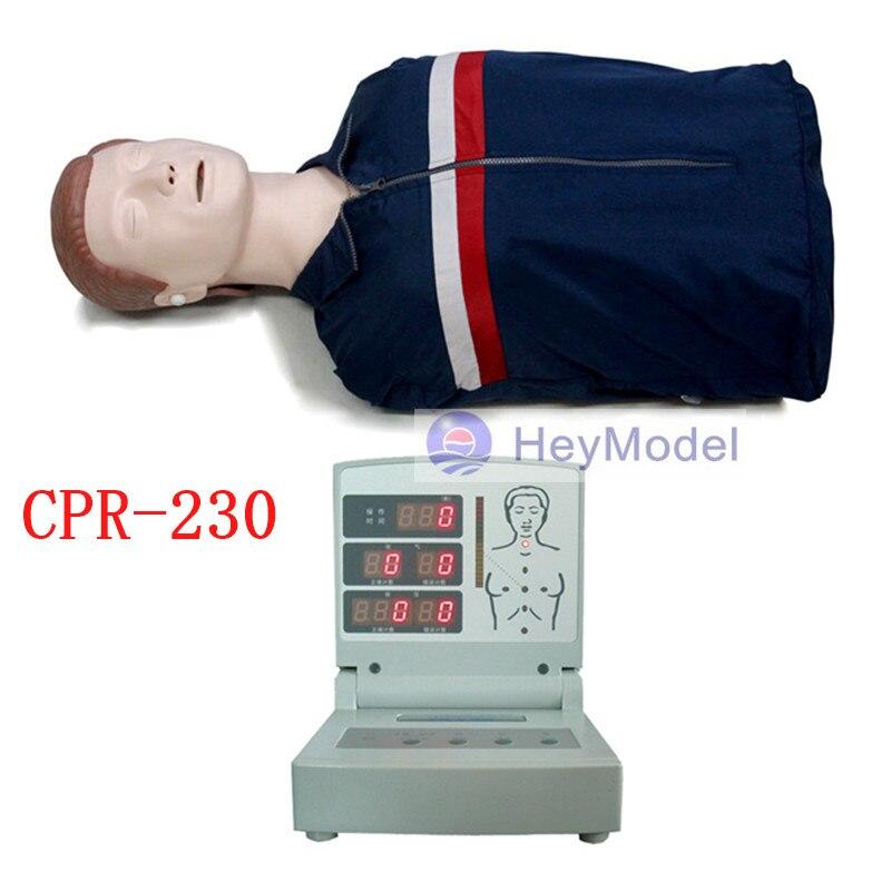HeyModel Half body Computer cardiopulmonary resuscitation simulator CPR230 first aid training Manikin manikins medical training simulators automated abdominal cardiopulmonary palpation and auscultation manikin gasen pem0001