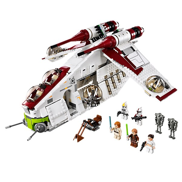 1175Pcs Genuine The The Republic Gunship Mobile Building Block Bricks Compatible With Legoings Star Series Wars 75021 new 5041 star wars series the the republic gunship building blocks bricks toys compatible with legoingly children model starwars