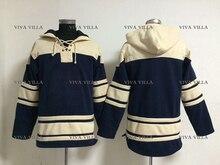 Hockey Hoodie Custom Any Name Any Number Hockey Jerseys High Quality Stitched Logos Ice Hockey Jersey Hoodie Sweater