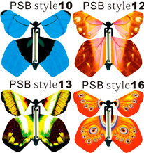 EMS Free Shipping Magic Surprising Flying Butterfly Especially Suit Card and Party