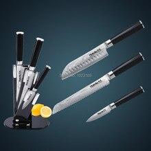 Japanese VG10 Damascus stainless steel kitchen knife set /Chef knife set