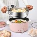 3L портативная электрическая мультиварка  Многожильная кухонная мини-пароварка  кастрюля для приготовления лапши  яичный котел  сковорода  ...