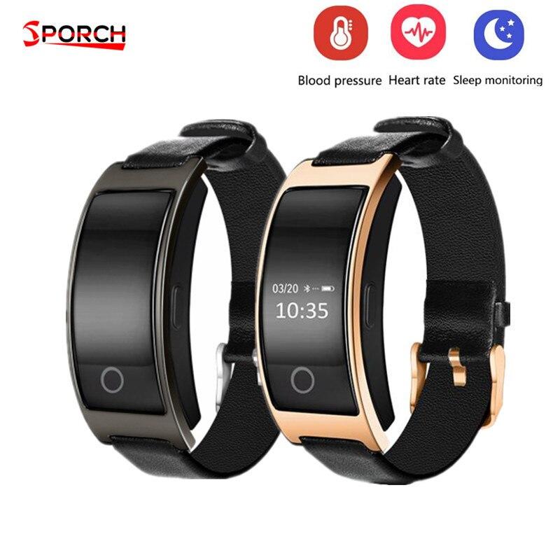 CK11S wristband reloj de presión arterial oxígeno Monitor de ritmo cardíaco pulsera inteligente pedometer IP67 impermeable smartband
