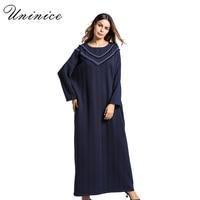 Mode Femmes de Robe Hiver Abaya Glands Épaississement Tricoté Coton Longue Robe Robes Moyen-Orient Musulman Arabe Islamique Vêtements