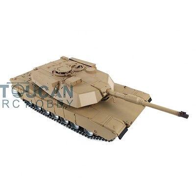 HengLong 1/16 M1A2 Abrams RC Tank Metal Road Wheels 360 Degrees Turret 3918