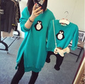 Fashion Family Matching Outfits T Shirts Mother Kids Girl Boys Shirts penguin clothes Mother Son Outfits Long-sleeve Family Look