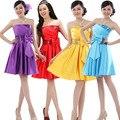 2017 nueva moda vestidos de novia homecoming dress dress vestidos de fiesta de graduación formal del diseño del cortocircuito 10 colores