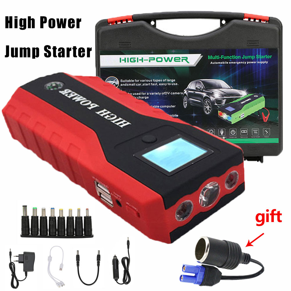 Meilleur démarreur de voiture Jumer 89800 mAh chargeur de voiture Portable haute puissance multi-fonction démarrage Jumper Booster de batterie de voiture d'urgence