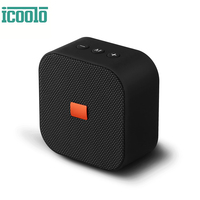 ICOOLO Wireless Speaker Portable Bluetooth Rich Bass Indoor Outdoor Hi Fi Loud Sound Bar with Built In Mic SD Card USB AUX In