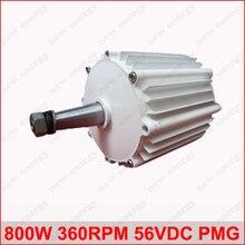 rpm 800ワット360 56VDC水平風&ハイドロオルタネータ/永久磁石水電力発電動機水力タービン新エネルギー