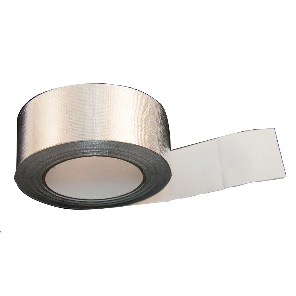 """2/""""inch x 83/'Ft Roll Cool Silver Tape Insulating Heat Wrap Barrier self adhesive"""