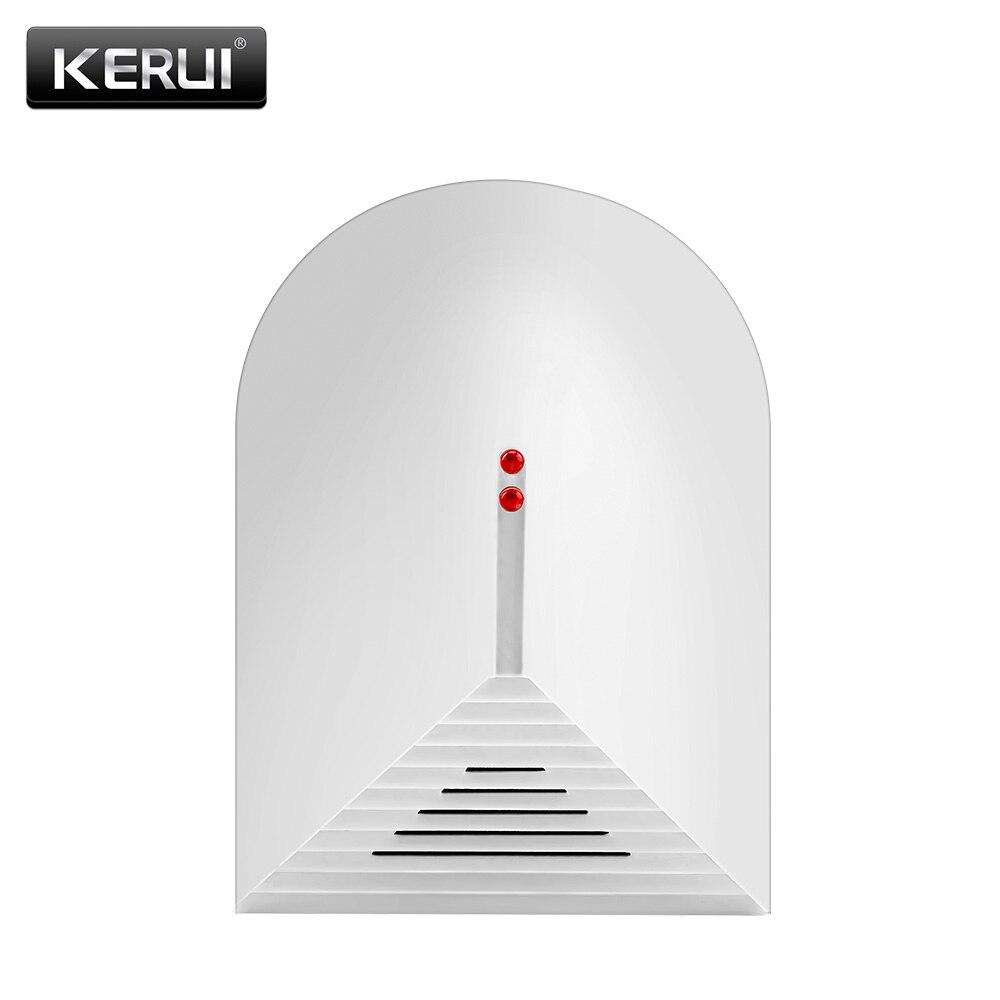 New Wireless Glass Break Trek Sensor Detector For KERUI PSTN GSM Alarm System 433 Mhz Sensor For Home Protection