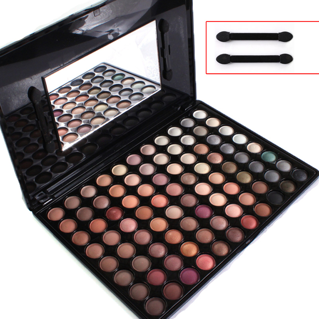 New Pro 88 Full Color Makeup Warm Eyeshadow Palette Eye Shadow Cosmetic Makeup