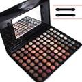 Pro 88 cores de maquiagem quente da paleta da sombra de maquiagem