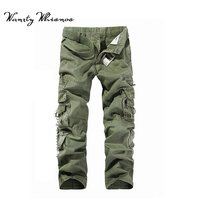 Whisnos Brand Urban Tactical Ripstop Pants Military Cargo Pants Mens Clothing Casual Army Pants 5Color Airsoft