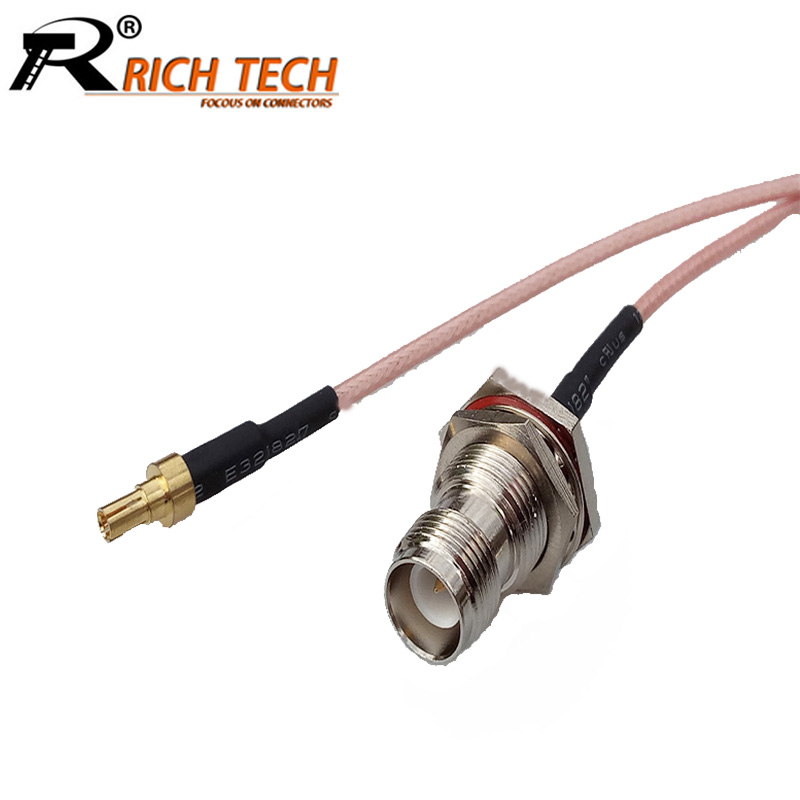 10pcs/lot RP Female Jack to Straight RC9 Male Connector RG316 Pigtail Cable Assembly RF WIFI Antenna Extension Cable