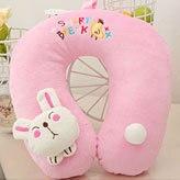 Cartoon animal style high-elastic u shaped pillow massage pillow travel pillow nap pillow 250