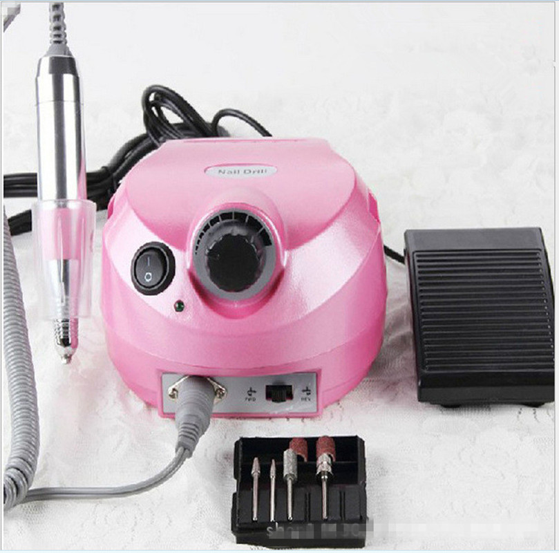Professional Electric Nail Drill Machine For Gel Polish Manicure Pedicure Files Tools Kit Nail Polisher Grinding Glazing Machine electric drill machine file drill set kit for acrylic gel nail art polisher sets glazing