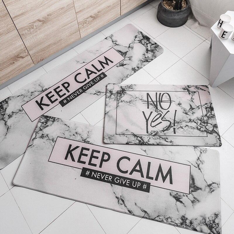 2018 nowy nowoczesny Nordic styl oryginalny Design kuchnia mata wycieraczka z pcw domu dywany dla salon sypialnia domu podłoga powierzchnia dywan w Mata od Dom i ogród na  Grupa 3