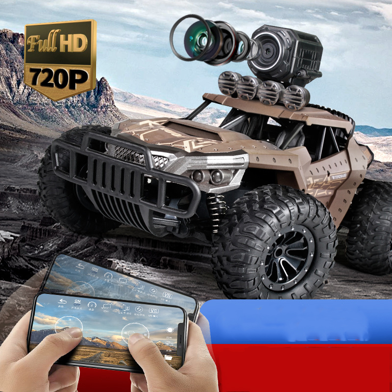 720p RC Car High Speed 1:18 Truck Racing 2.4G Remote Control Cars Electric RC Cars Drift Off Road Car With Camera Gift