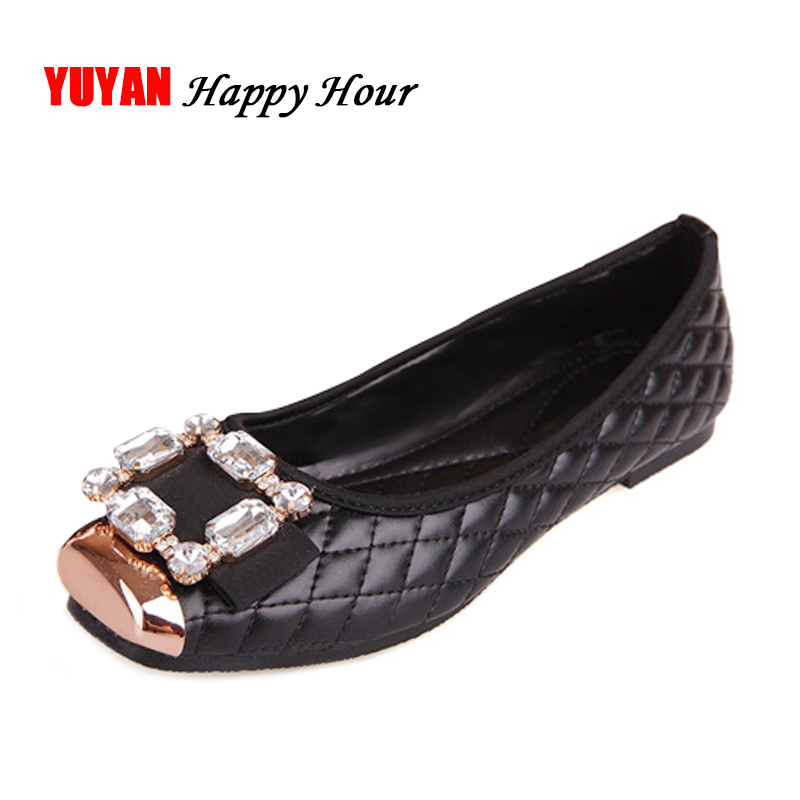 Spring and Autumn Ballet Flats Women Elegant Brand Shoes Diamond Design Womens Flats Luxury Plus Size 35-42 Free ShippingSpring and Autumn Ballet Flats Women Elegant Brand Shoes Diamond Design Womens Flats Luxury Plus Size 35-42 Free Shipping