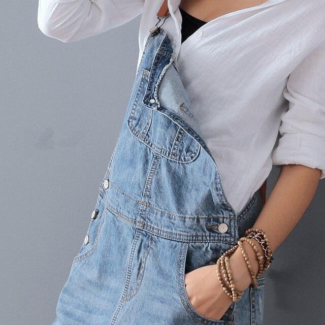 Fashion Maxi Denim Dress Summer Ladies Suspenders Holes Jean Dresses Female Loose Plus Size 5XL Bib Blue cowboy Long Dress 8075 3