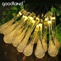 Goodland Alta Brillantes Luces de Hadas 6 M Cadenas de Iluminación Solar LED Luz de la Secuencia Impermeable Al Aire Libre Decoración Del Partido De Navidad