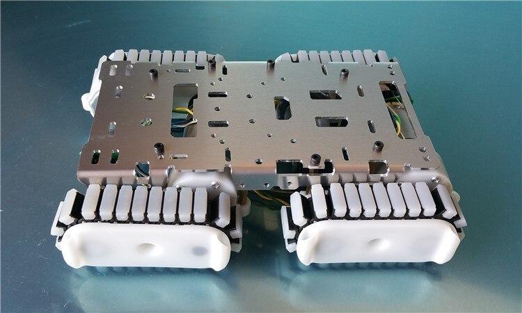 Châssis de réservoir blocs électroniques bricolage réservoir robot pièces châssis de piste