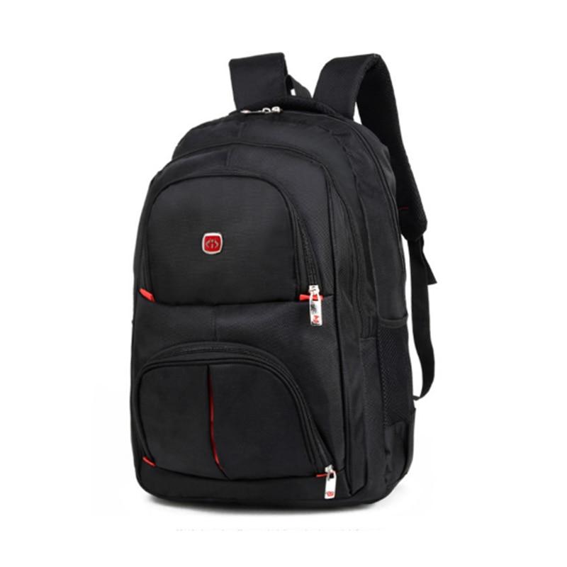 Laptop Bag black Backpack Men Large Nylon Waterproof School Shoulder Bag Men's Backpacks Women Bagpack  Daypacks For Travel