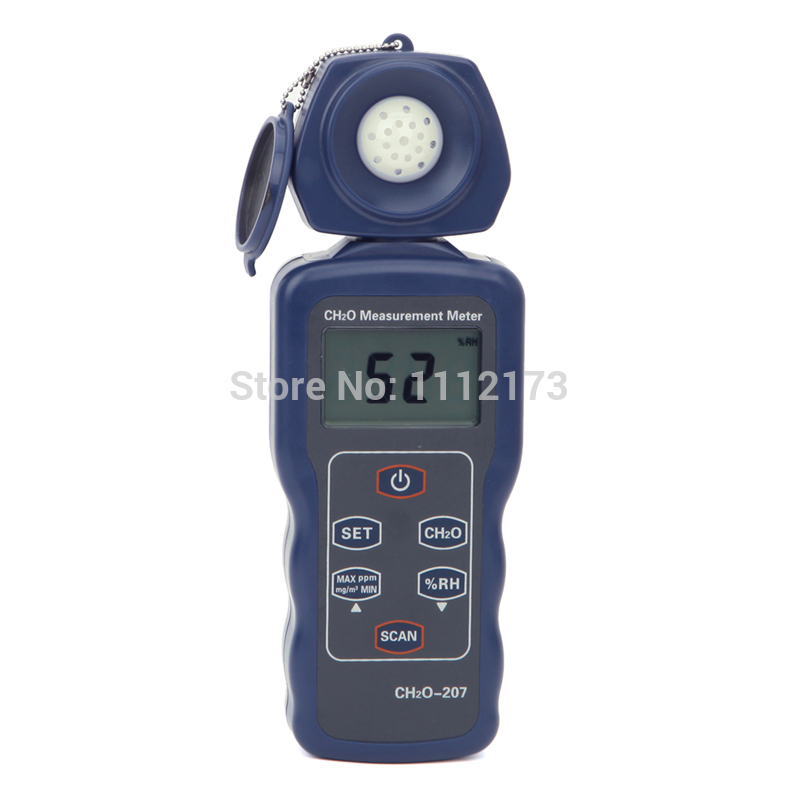 LCD Numérique Formaldéhyde gaz environnement humidité tester Analyseurs de Gaz détecteur 30 ~ 90% RH CH02 mesure mètre