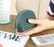 Women Coin Purses Fashion 2017 New 100% Genius Leather Wallets Cowhide clutch famous brand women clutch Ladies bags
