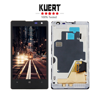 Free Shipping For Nokia Lumia 1020 Touch Screen Digitizer LCD Display Assembly Frame Replacement