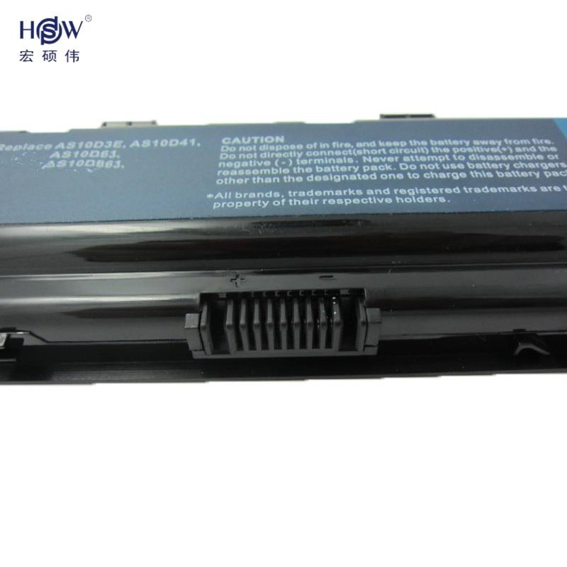 HSW laptop batteri för ACER AS10D31 AS10D51 AS10D81 AS10D75 AS10D61 - Laptop-tillbehör - Foto 4
