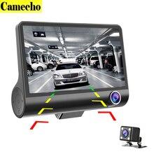 Новинка 2017 года 4 »Трехходовой автомобиля Камера FullHD 1080 P видео регистратор широкий угол обзора 170 градусов регистраторы видео рекордер g-сенсор dashcam