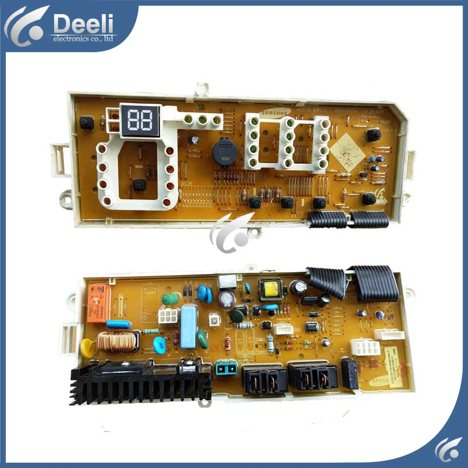 used board for washing machine Computer board DC92-00197G WF9600NHW WF9600NHS wire universal board computer board six lines 0040400256 0040400257 used disassemble