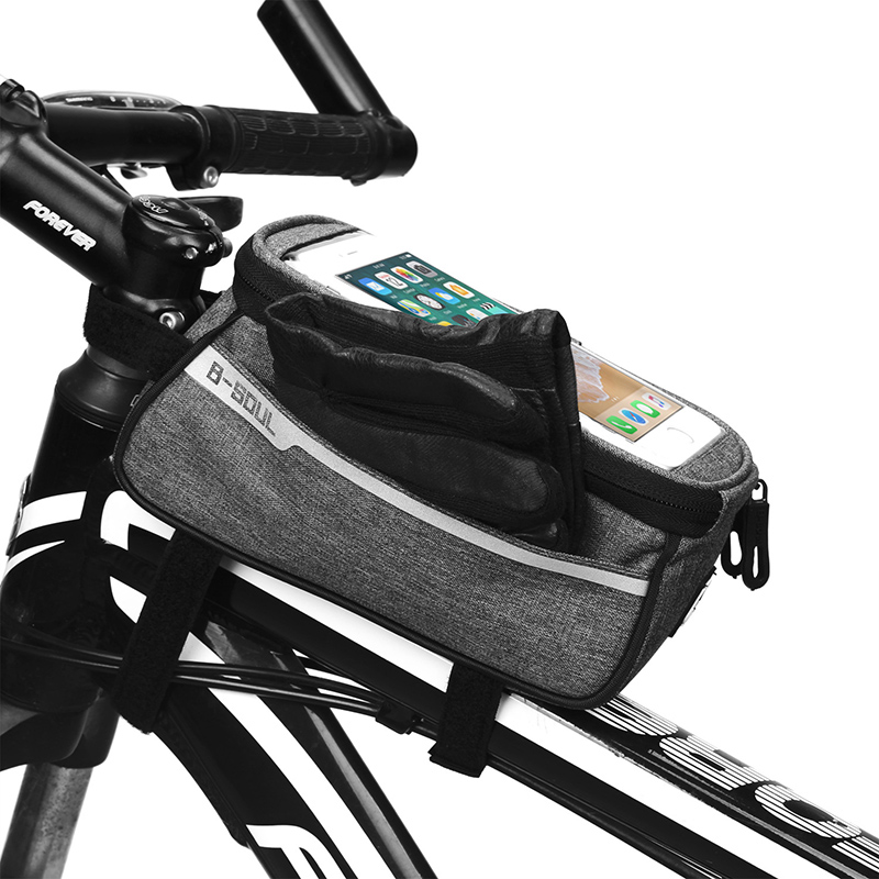 New Mountain Handlebar Bag Bike Bicycle Accessories Waterproof Riding Touch Bag
