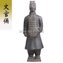 New Terracotta crafts ornaments Qin Terracotta Warriors and Horses handmade souvenir China antique imitation soldier sculpture