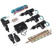 Auto Car Door Central Lock Automatic Locking Alarm Keyless Entry System Kit Set
