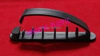 10pcs/bag arc clamp smaller sizze fix cable one hole black color