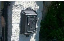 В Европейском стиле вилла украшена почтовый ящик алюминиевых Сплавов литья PO box Канцелярские Газета Журнал коробка бесплатная доставка